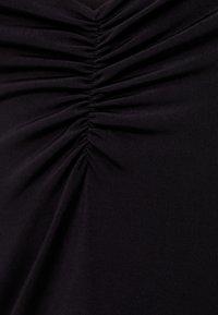 Bershka - Pouzdrové šaty - black - 5