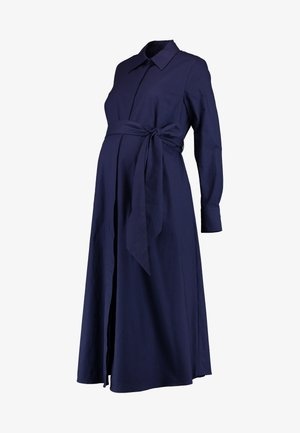 Shirt dress - winter true blue