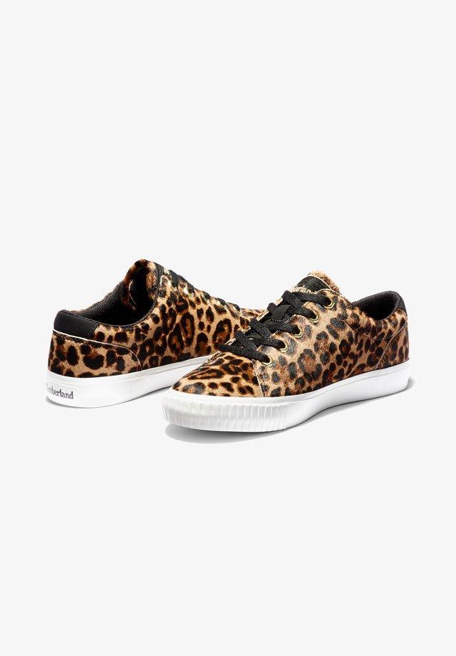 SKYLA BAY LEATHER OXFORD - Sneaker low - medium brown