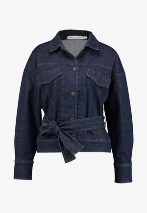 EMONEIW JACKET - Džínová bunda - blue denim