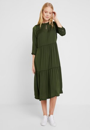ZA-FAY DRESS - Freizeitkleid - rifle green