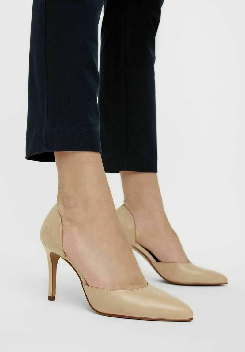 Bianco - BIACAIT - High heels - creme