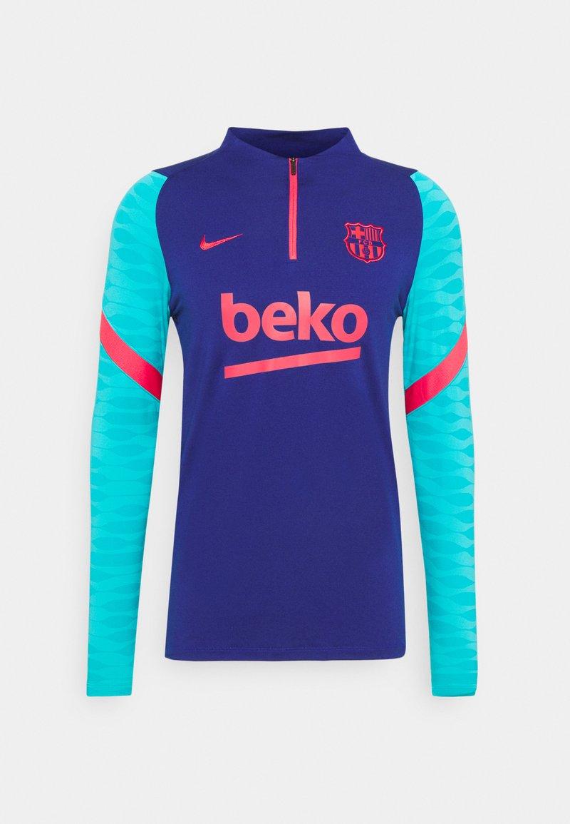 Nike Performance - FC BARCELONA DRY - Klubbkläder - deep royal blue/lt fusion red