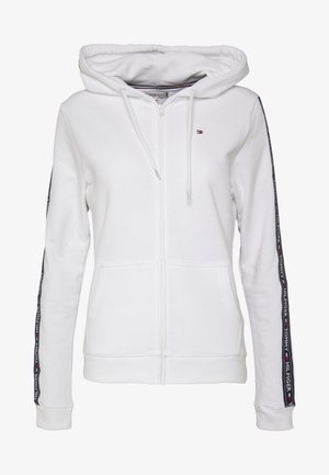 AUTHENTIC HOODY - Zip-up hoodie - classic white