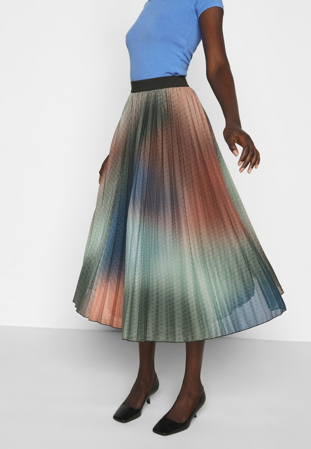 DIGA - A-line skirt - multi coloured