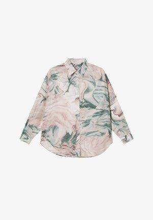 FLIESSENDES - Button-down blouse - khaki