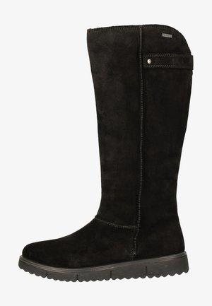 Platform boots - Schwarz (Schwarz)