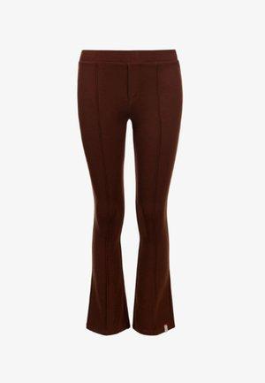 Flared Jeans - dark brown