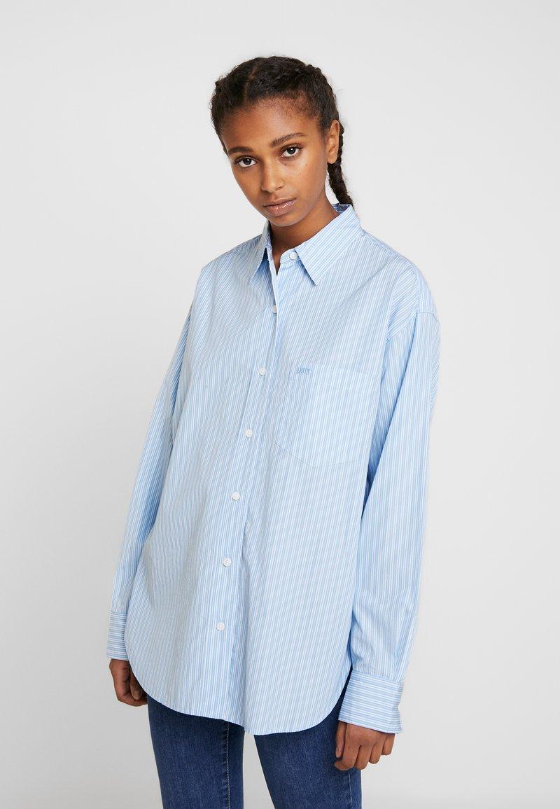 Levi's® - Button-down blouse - adelia stripe powder blue