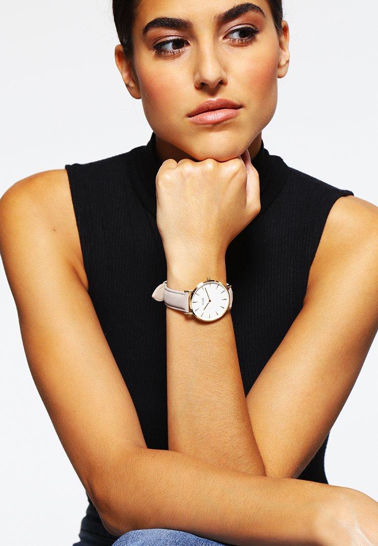 Cluse - LA BOHÈME - Watch - gold-coloured/white/grey