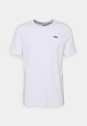 EDGAR TEE - T-shirt basic - bright white