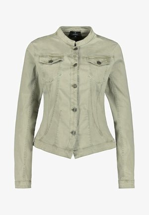 Denim jacket - dusty green
