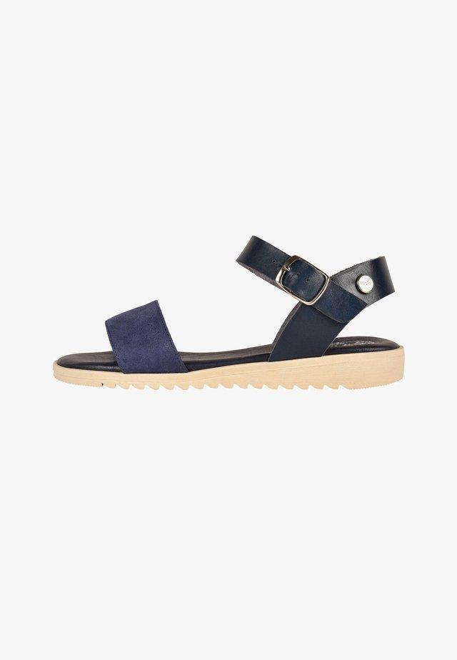 CACHOU - Sandalen met enkelbandjes - navy blue