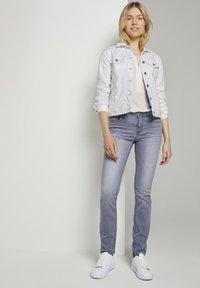 TOM TAILOR - Slim fit jeans - grey denim - 1