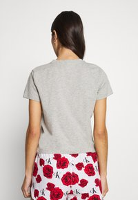 Calvin Klein Underwear - CK ONE LOUNGE CREW NECK - Pyjama top - grey heather