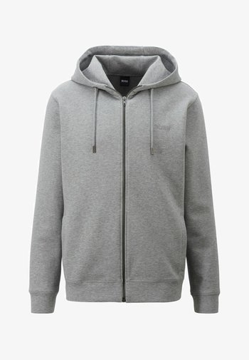 WEEPREEN - Sweat à capuche zippé - grey