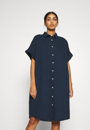 MOLLY DRESS - Dongerikjole - blue