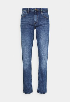 BLIZZARD FIT - Straight leg jeans - denim dark blue