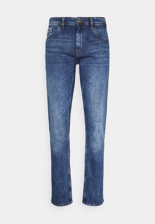 BLIZZARD FIT - Jeans a sigaretta - denim dark blue