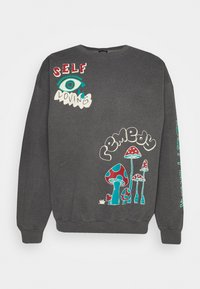 BDG Urban Outfitters - REALITY BREAK UNISEX - Mikina - washed black - 4