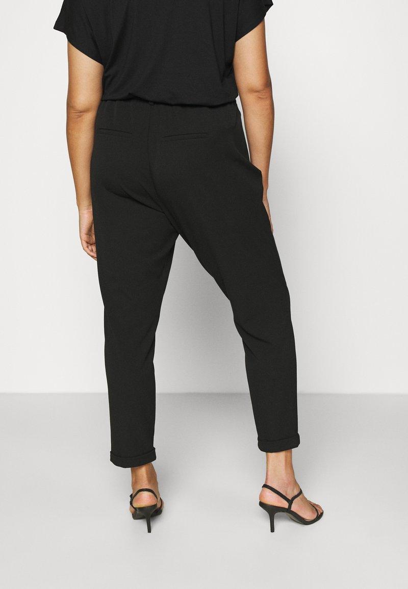 Vero Moda Curve - VMKAYA LOOSE SOLID PANT - Chinos - black