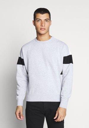 JCOCHEETA CREW NECK - Sweatshirts - white melange