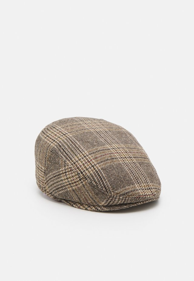 KNOWLE FLATCAP - Hattu - brown