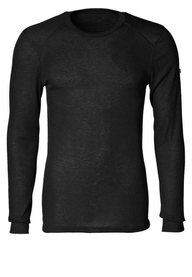 CREW NECK WARM - Undershirt - black