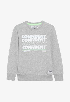 NORTH - Sweatshirt - grey melange