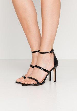 PARK LANE - High heeled sandals - black