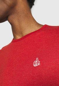 s.Oliver - KURZARM - T-shirt basique - orange - 5