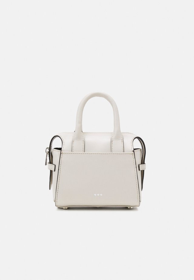 CROWN MINIATURE BAG - Sac bandoulière - off white