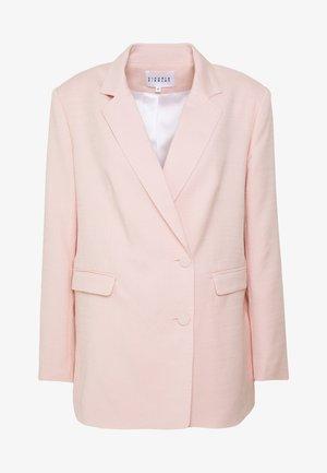 VICOMTEE - Short coat - poudre