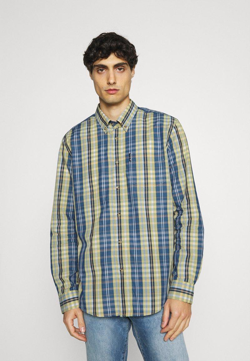Ben Sherman - POP TARTAN CHECK - Overhemd - mood indigo