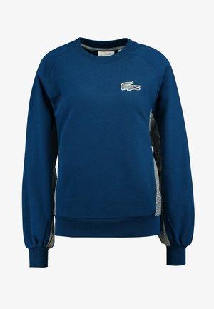 Sweatshirt - raffia matting