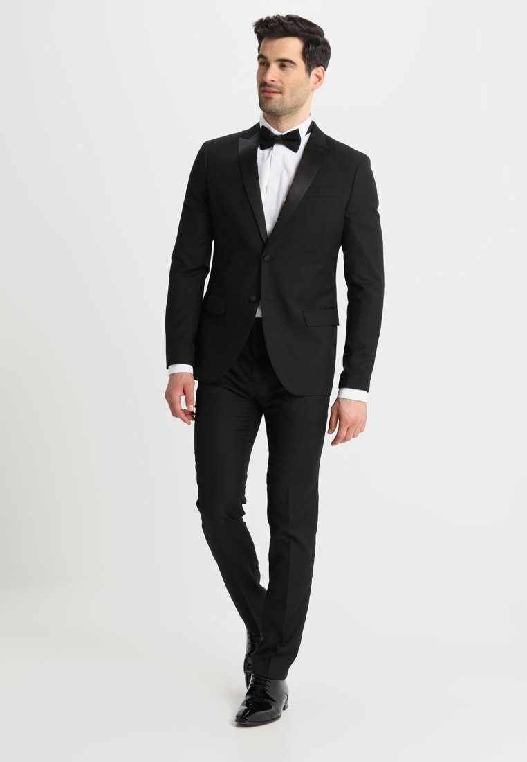Topman COREY - Dressbukse - black
