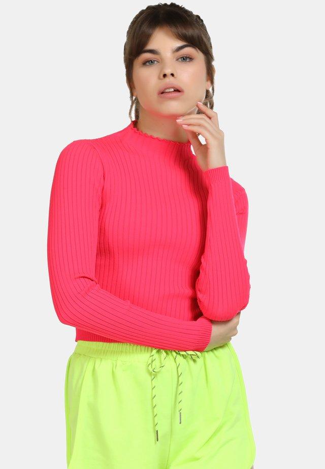 Trui - neon pink