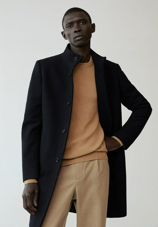 FUNNEL-I - Classic coat - schwarz