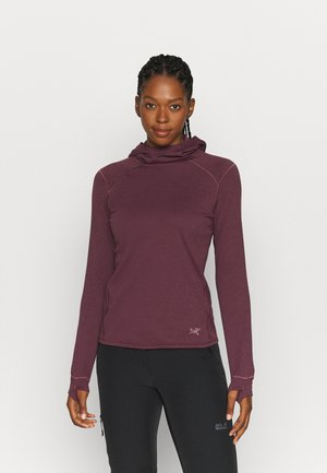 MOTUS AR HOODY WOMEN'S - Fleece jumper - rhapsody heather