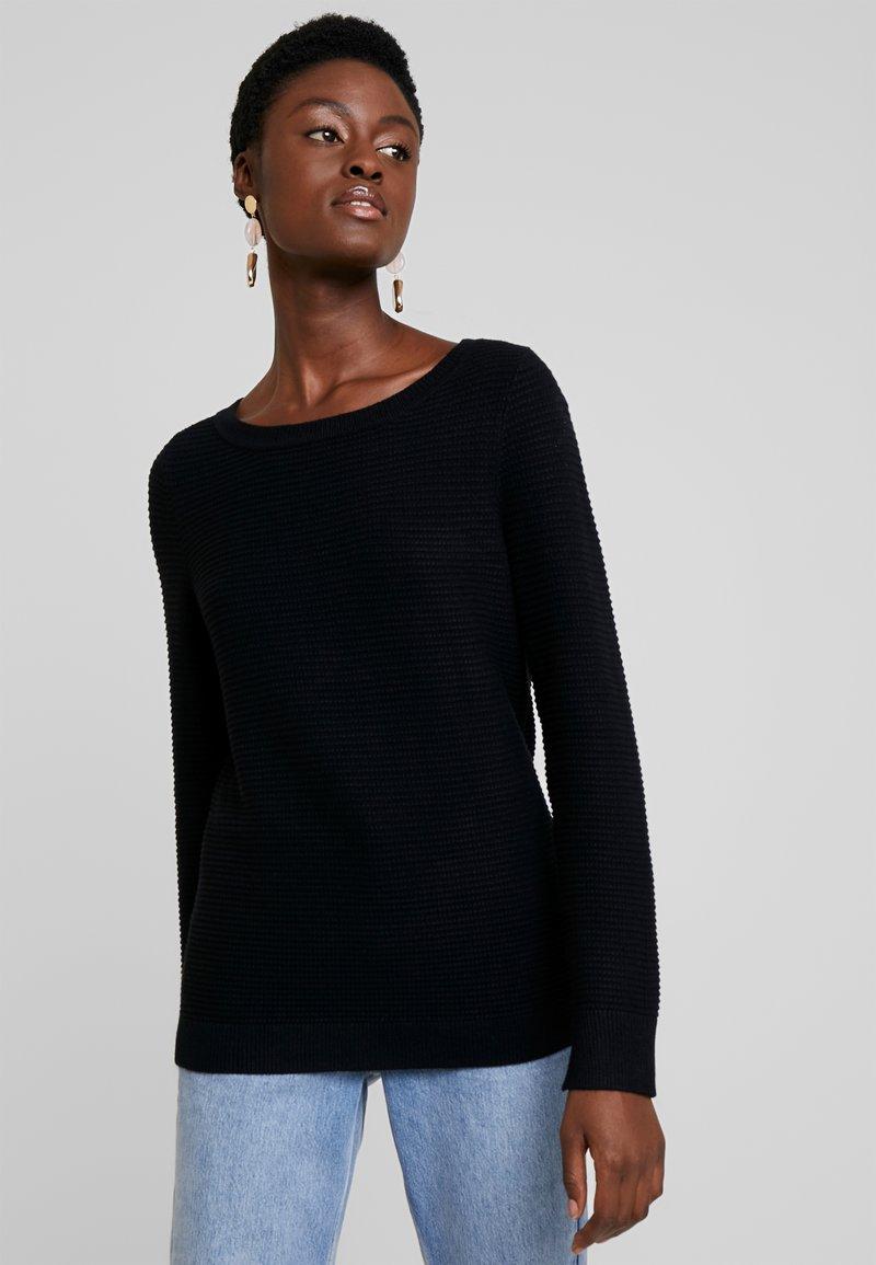 Esprit - OTTOMAN - Maglione - black