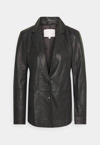 Part Two - FAISA - Leather jacket - black - 0