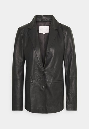 FAISA - Leather jacket - black
