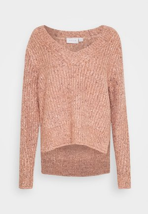 VIFRESH  - Strickpullover - misty rose/multi nips