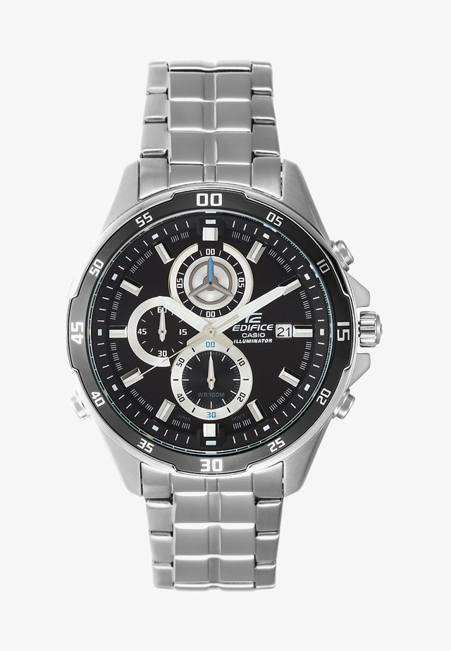 EDIFICE - Chronograph watch - silver-coloured