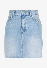 MALLORY SKIRT - Denim skirt - destiny blue