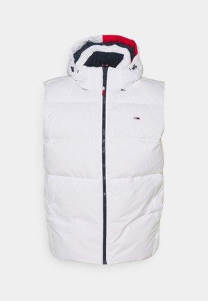 TJM ESSENTIAL DOWN VEST - Waistcoat - white