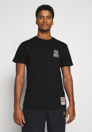 NBA MILWAUKEE BUCKS LOGO TEE - Article de supporter - black