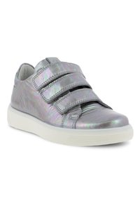 ECCO - STREET TRAY K QUICK FASTE - Trainers - silver iridescent - 1