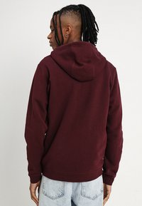 Nike Sportswear - CLUB FULL ZIP HOODIE - Zip-up hoodie - dark red - 2