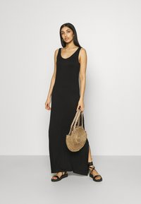Vila - VIDINA DRESS - Maxi dress - black - 1
